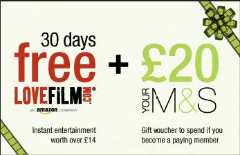 CASE STUDY: Your M&S For Business Lovefilm Incentive Scheme