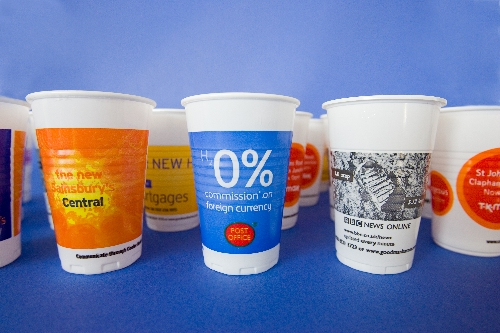 Branded Water Cooler Cups reach the City Workforce
