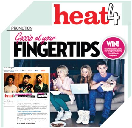 CASE STUDY: Imagine if Channel 4 and HEAT shared a front room.