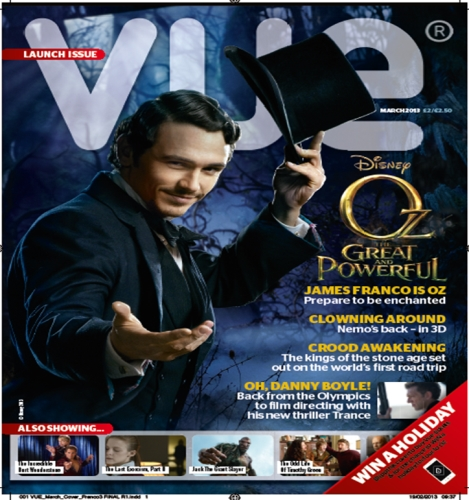 Advertising opportunities in VUE Magazine