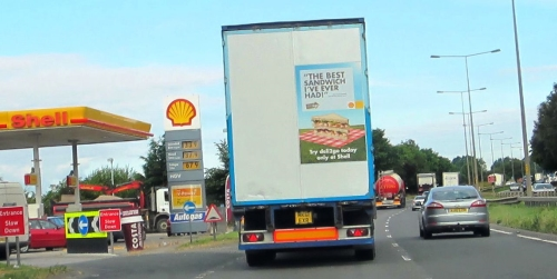 CASE STUDY: Shell drives desire with Truck Media 6 sheets!