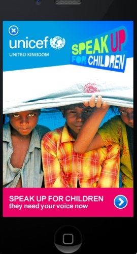 CASE STUDY: UNICEF Mobile Campaign Delivers Strong Results