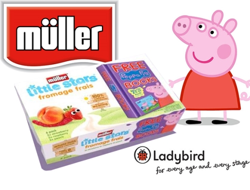 CASE STUDY: Müller on-pack promotion with Ladybird and Peppa Pig