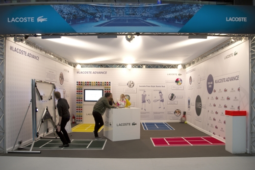CASE STUDY: Lacoste Fanzone Activation at ATP Tennis Finals