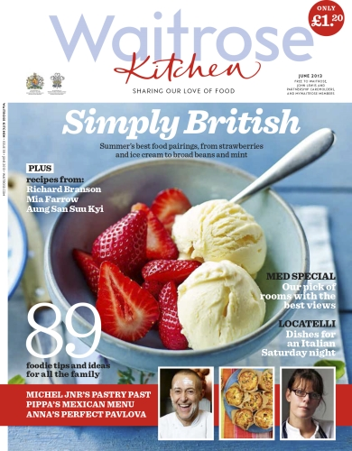 Advertise in Waitrose Kitchen Magazine
