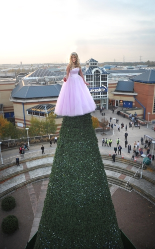 CASE STUDY: Lakeside's Living Christmas Fairy