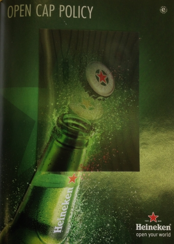 CASE STUDY: Heineken® premier 3D Ads in Inflight Magazines
