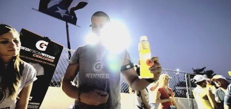 CASE STUDY: Gatorade use sweat-activated t-shirts at sport event