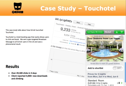 CASE STUDY: Mobile app reaches ABC1 males to launch ToucHotel