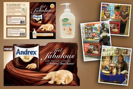 CASE STUDY: Andrex® Shea Butter launch campaign