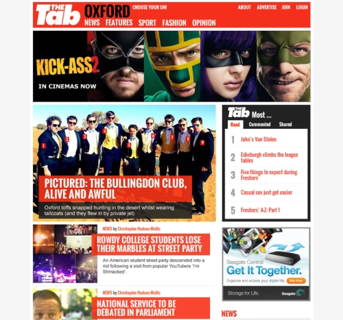 Content sponsorship on The Tab to reach 1.3 million UK students