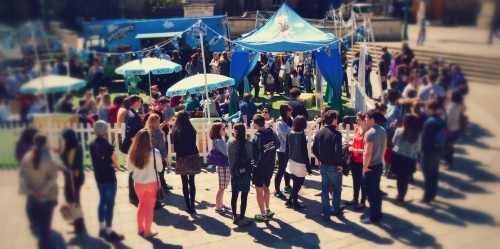 Unrivalled Experiential Events and On-Campus Student Marketing