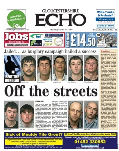Advertise in Gloucestershire with the Gloucestershire Echo