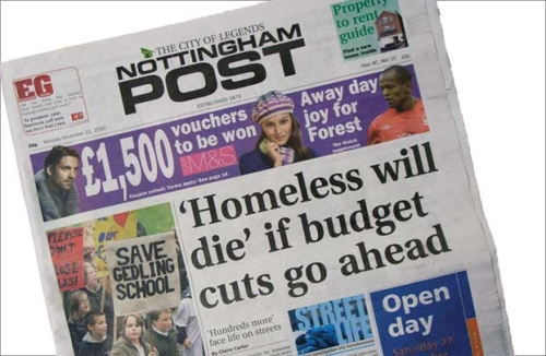 Advertise in Nottingham with the Nottingham Post