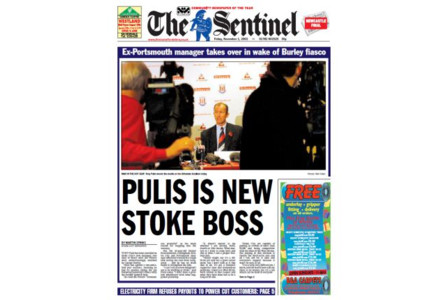 Advertise in Stoke with The Stoke Sentinel