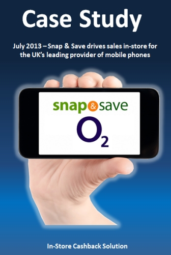 CASE STUDY: O2 Rewards Customers In-Store Using Snap & Save