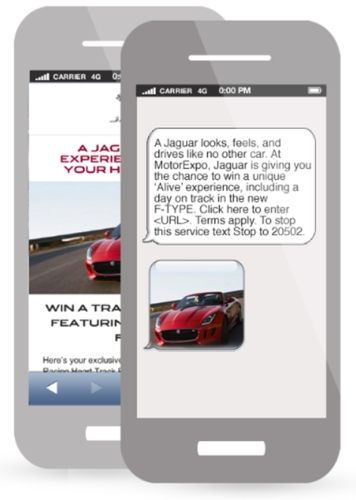 CASE STUDY: Driving sales of Jaguar fleet cars via mobile