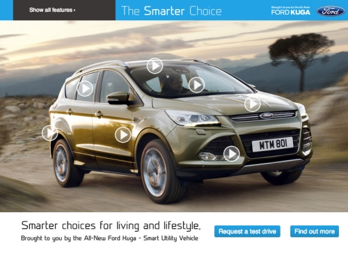 CASE STUDY: Raising awareness for Ford Kuga Smarter Choice
