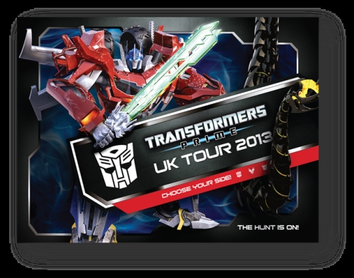 CASE STUDY: Hasbro Transformers Prime UK Truck Tour