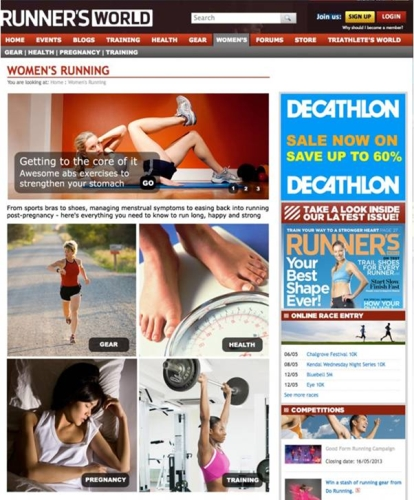 Channel Takeover Opportunity with Runner's World
