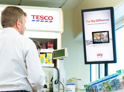 Amscreen's digital screen network now in Tesco