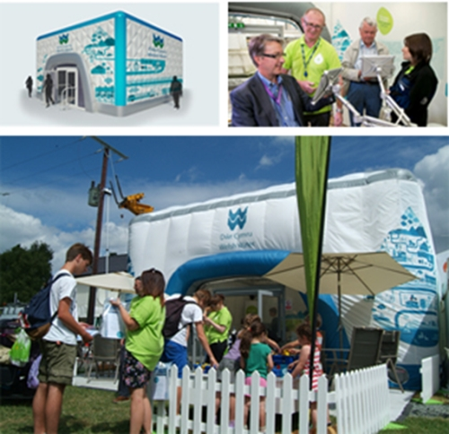 CASE STUDY: Experiential: Welsh Water Roadshow