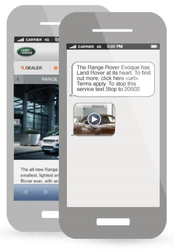 CASE STUDY:Mobile- driving awareness & engagement for Land Rover