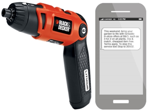 CASE STUDY: Black & Decker increase footfall with mobile
