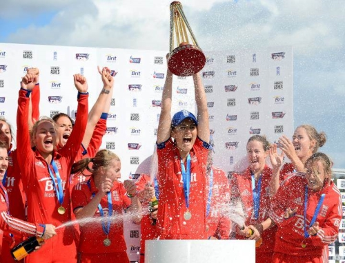 Partner with the England Women's Cricket Team from 2015 onwards
