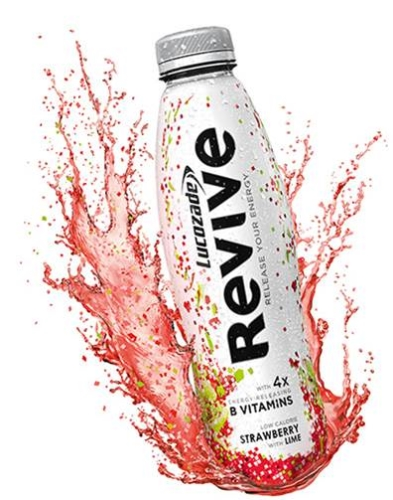 CASE STUDY: Weve's mobile campaign for Lucozade Revive