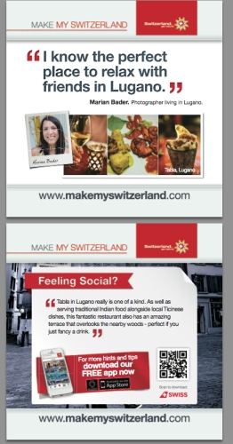 CASE STUDY: Swiss Tourist Board Targets City Professionals