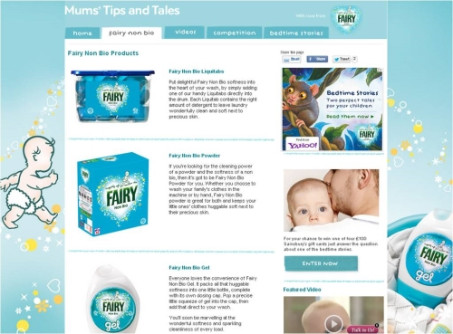CASE STUDY:Building Brand Awareness with First Time Mums for P&G