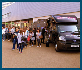 CASE STUDY: Wagamama use UK road trip to reconnect with students