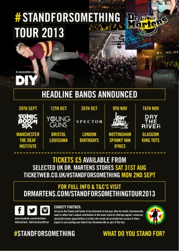 CASE STUDY: Dr.Martens #STANDFORSOMETHING Tour