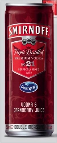 CASE STUDY - Ocean Spray & Smirnoff 'Perfect Partners'