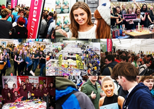 Advertising & Sponsorship at the UK' Largest Student Exhibition