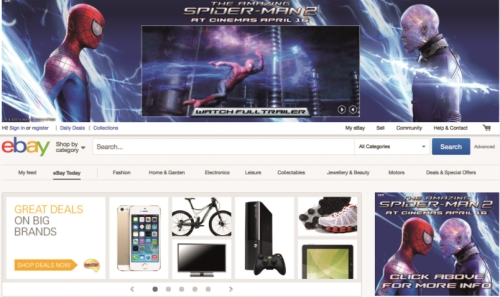 CASE STUDY: ebay drive awareness of The Amazing Spider-man 2