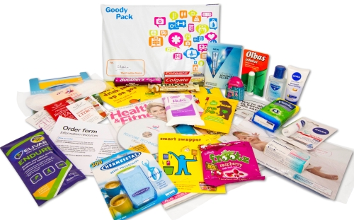 Practice Nurse Sampling—Goody Packs with IDS UK Media
