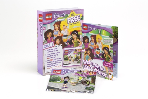 CASE STUDY: LEGO Friends use in-home sampling to reach consumers