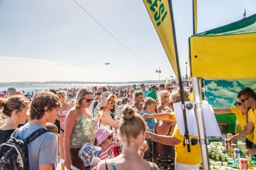 CASE STUDY: Vivesoy Sampling Activity at Bournemouth Air Show