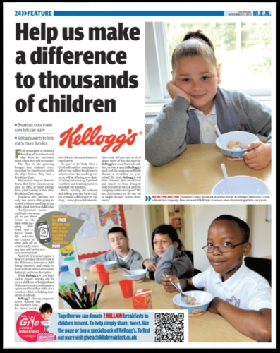 CASE STUDY: Trinity Mirror join forces with Kellogg's