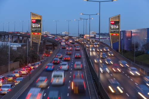 Clear Channel's Chiswick Towers reach 300,000 motorists daily