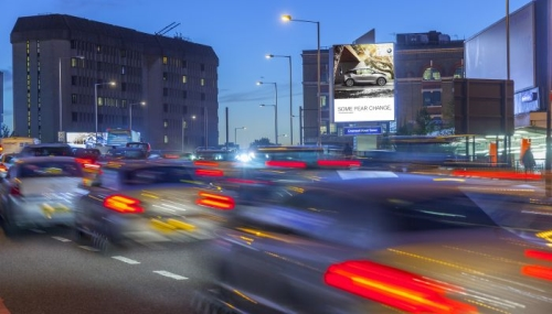 Advertise on Cromwell Road Tower with Clear Channel
