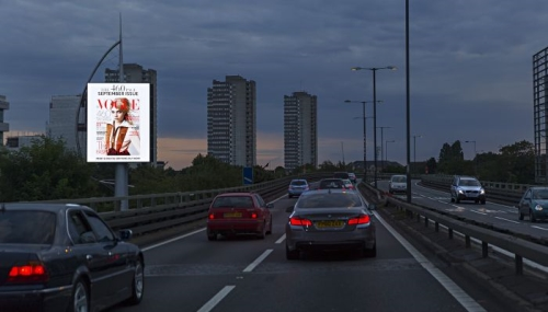 Advertise on Clear Channel's Gunnersbury tower on the M4