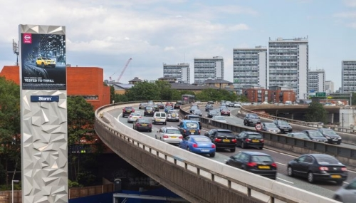 Reach an affluent audience on the M40 with the Westway Tower