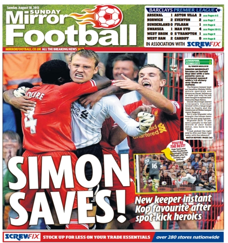 Sunday Mirror Football Partnership