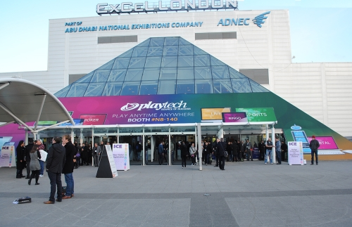 Branded Pyramid Wrap at ExCel London