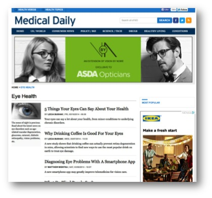 CASE STUDY: Bringing a new audience to Asda Optical
