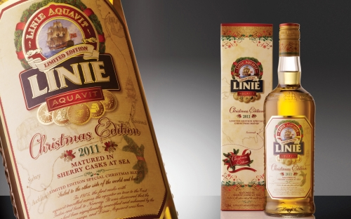 CASE STUDY: Christmas Linie Aquavit