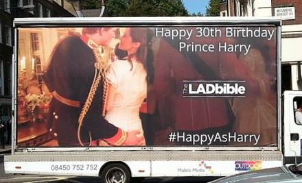 CASE STUDY: The LADbible Prince Harry's 30th Birthday PR Stunt